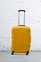 Чохол для валізи Coverbag S0102E;1100 жовтий, малий, неопрен, фото 3