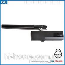 Доводчик GU OTS 430 (коленная тяга с фиксацией) черный