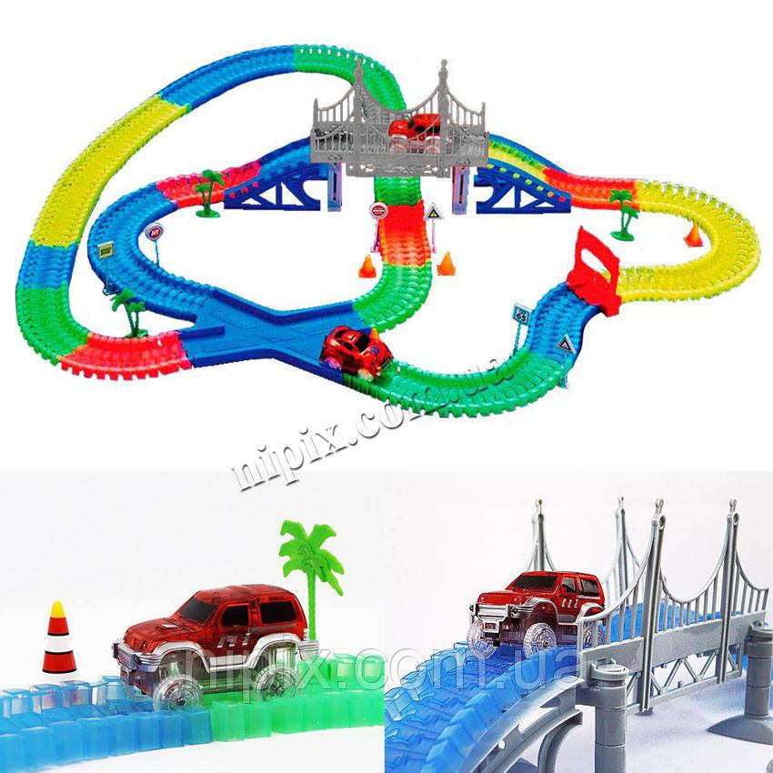 Іграшкова дорога Magic Track, трек на 360 деталей + 2 машинки