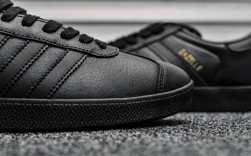"Мужские кроссовки в стиле  adidas Gazelle ""Black"", фото 5"