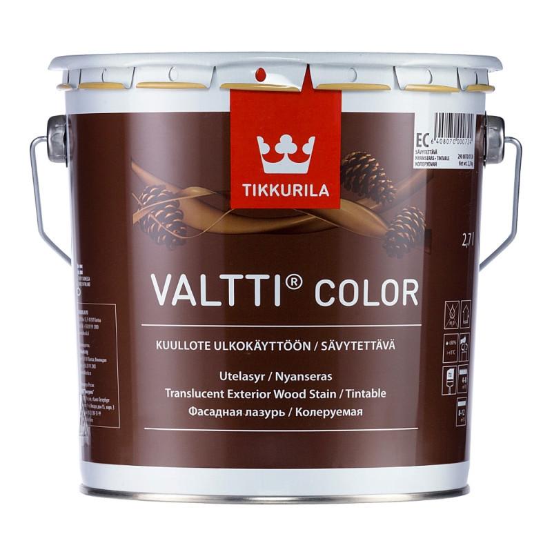 Фасадна лазур Tikkurila Валтті Колор Valtti Color 2.7л