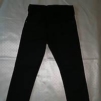 Утеплённые чёрные брюки на мальчика   зима (Турция) , фото 1