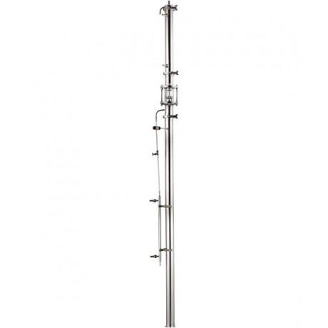 Ректификационная колонна AquaGradus Альфа - без емкости - соединение кламп
