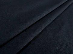 Ткань коттон сатин плотный, черный