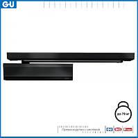 Доводчик GU OTS 430 (скользящая тяга) черный