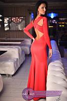 Вечернее облегающее платье (в расцветках) 687