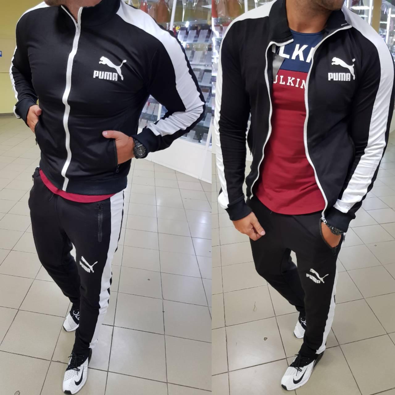 b220de9482a1 Мужской спортивный костюм Puma - Интернет-магазин спортивной одежды