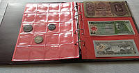 Комбинированный альбом для монет и банкнот Schulz