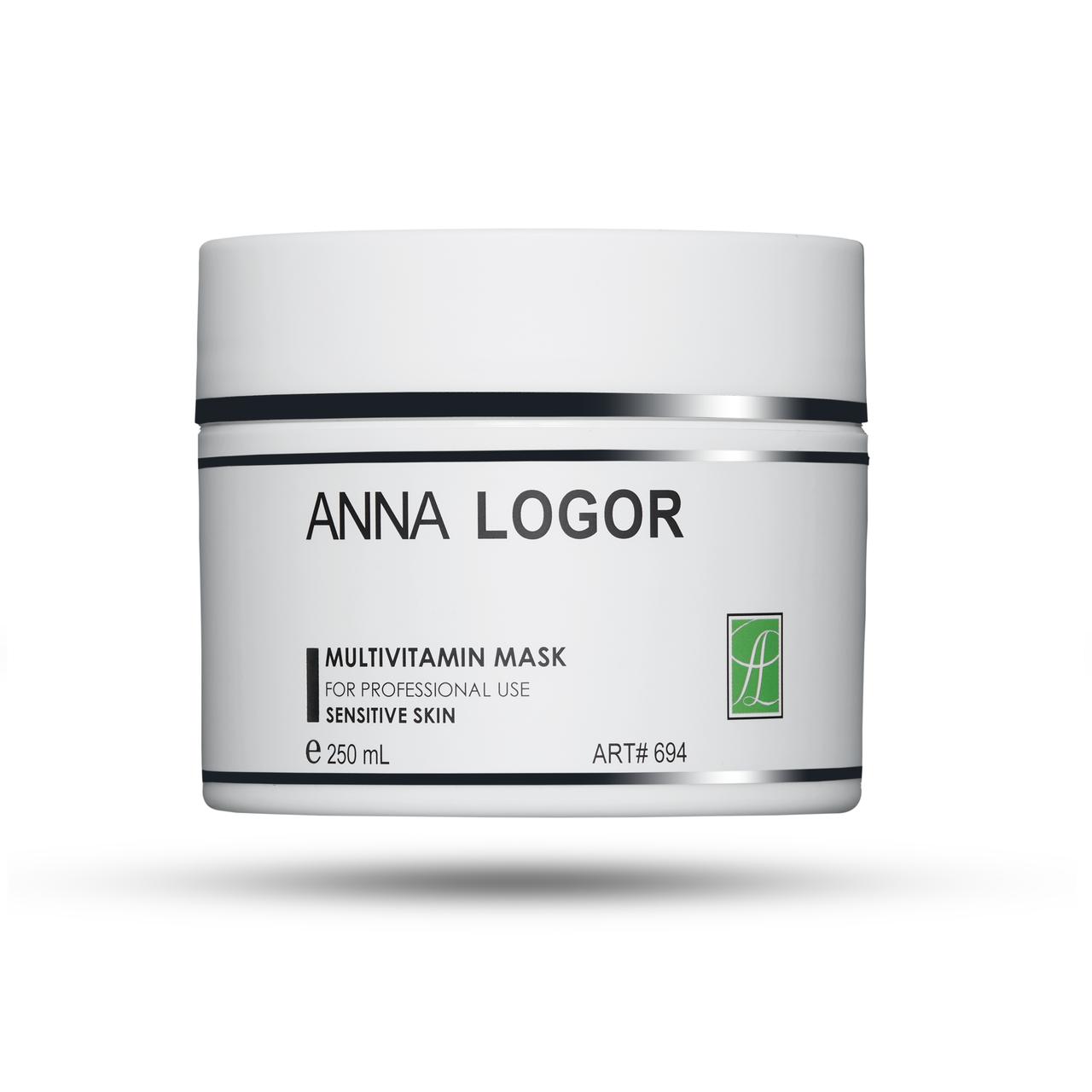 Мультивітамінна гелева маска для чутливої шкіри Анна Логор / Anna Logor Multivitamin Mask Код 694