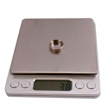 Профессиональные ювелирные весы до 3 кг (0,1)+2чаши