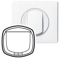 Лицевая панель - Программа Celiane - выключатель с ключом-карточкой Кат. № 0 675 63/64 - белый