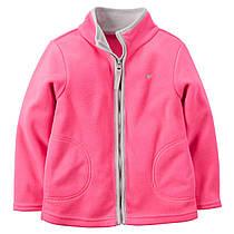 Кофта флисовая розовая 2Т,3Т