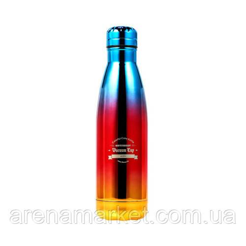 Термос Remax RT-CUP41 Colorful Coke 500 мл - блакитний