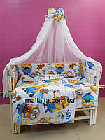 Комплект детского постельного белья Миньйоны Bepino Хлопок