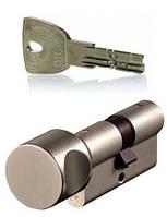 ISEO R90 95 (40х55) ключ-тумблер  матовий хром, фото 1