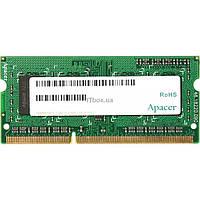 Модуль памяти для ноутбука SoDIMM DDR3L 4GB 1600 MHz Apacer (AS04GFA60CATBGJ)
