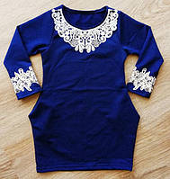 Платье детское для школы и сада р.92 - 100