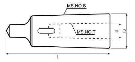 Редукционная втулка МК 4/2, фото 2