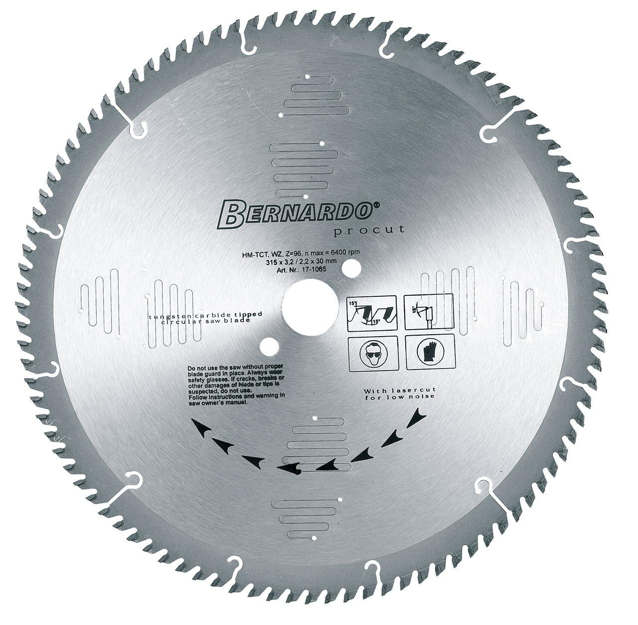 Карбидная круглая пила для пробивки WZ - 315 x Z48