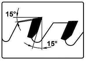 Карбидная круглая пила для пробивки WZ - 315 x Z48, фото 2