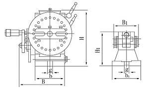 Полууниверсальная делительная головка BS-1, фото 2