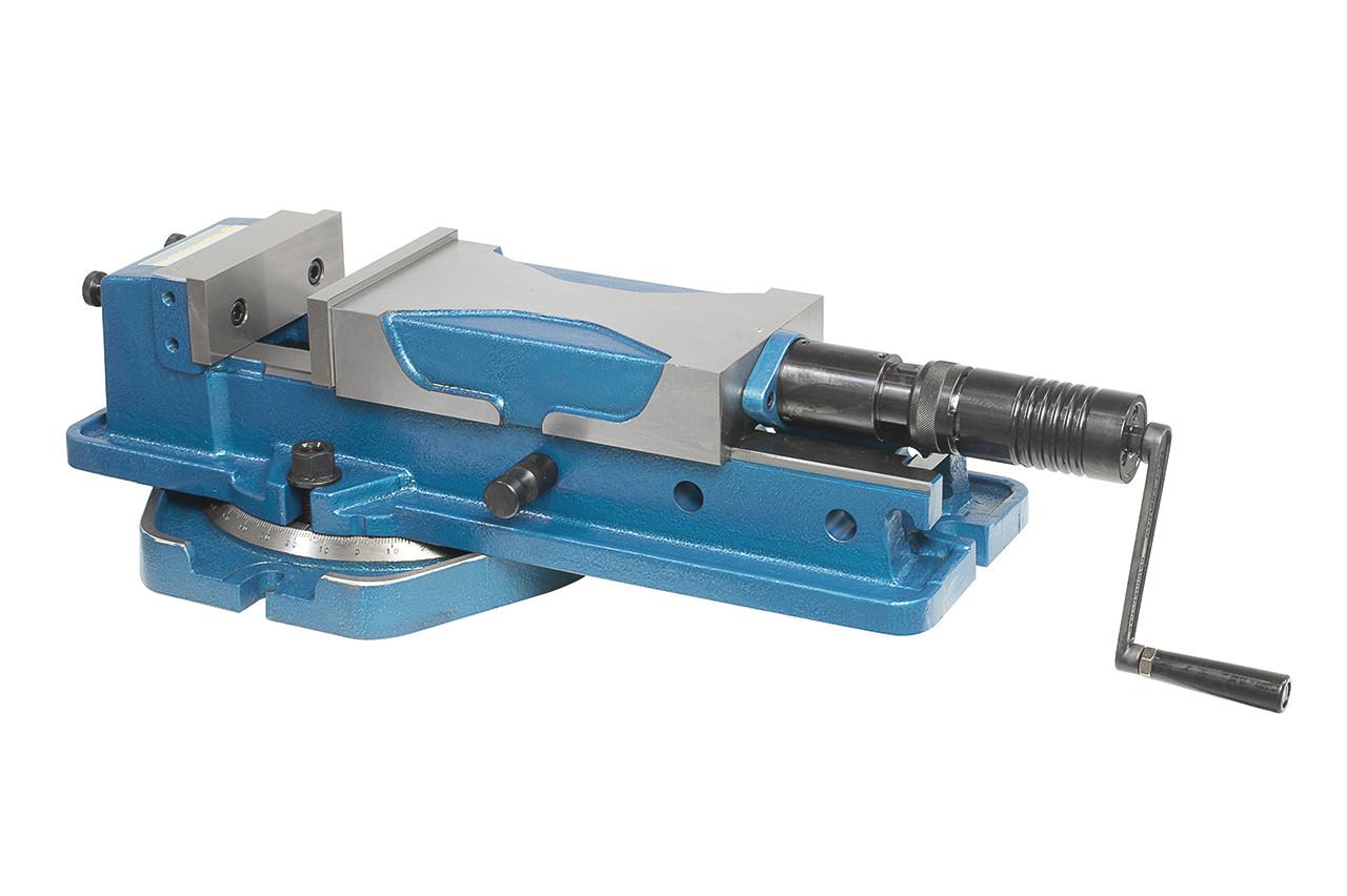 Верстатні лещата гідравлічні поворотні високого тиску PHV 160 Bernardo