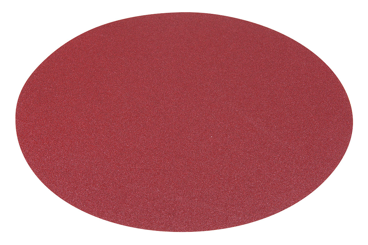Шлифовальная подушка диам. 300 мм - K 80, застежка-липучка