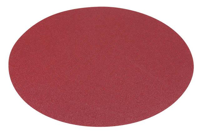 Шлифовальная подушка диам. 300 мм - K 80, застежка-липучка, фото 2