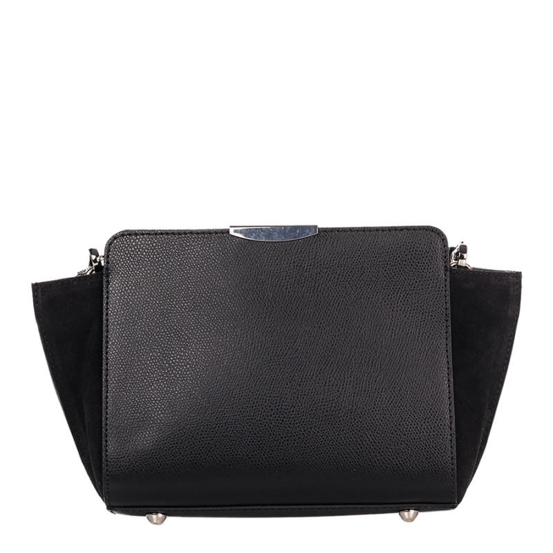 6d2892bfb1c9 Сумка Italian bags 1686_black кожаная черная, цена 1 327 грн., купить в  Киеве — Prom.ua (ID#748692214)