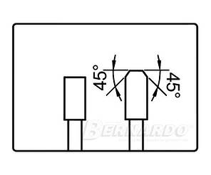 Карбидная круглая пила для обрезки TZ/FZ - 400 x Z96, фото 2