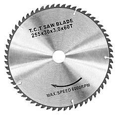 Карбидная дисковая пила WZ, 255 x 3.0 x 30 мм, Z60
