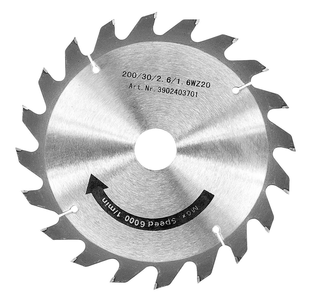 Карбидная дисковая пила 200 x 3.0 x 30 мм