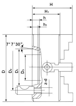 Лицевая панель K72-630/D11, фото 2