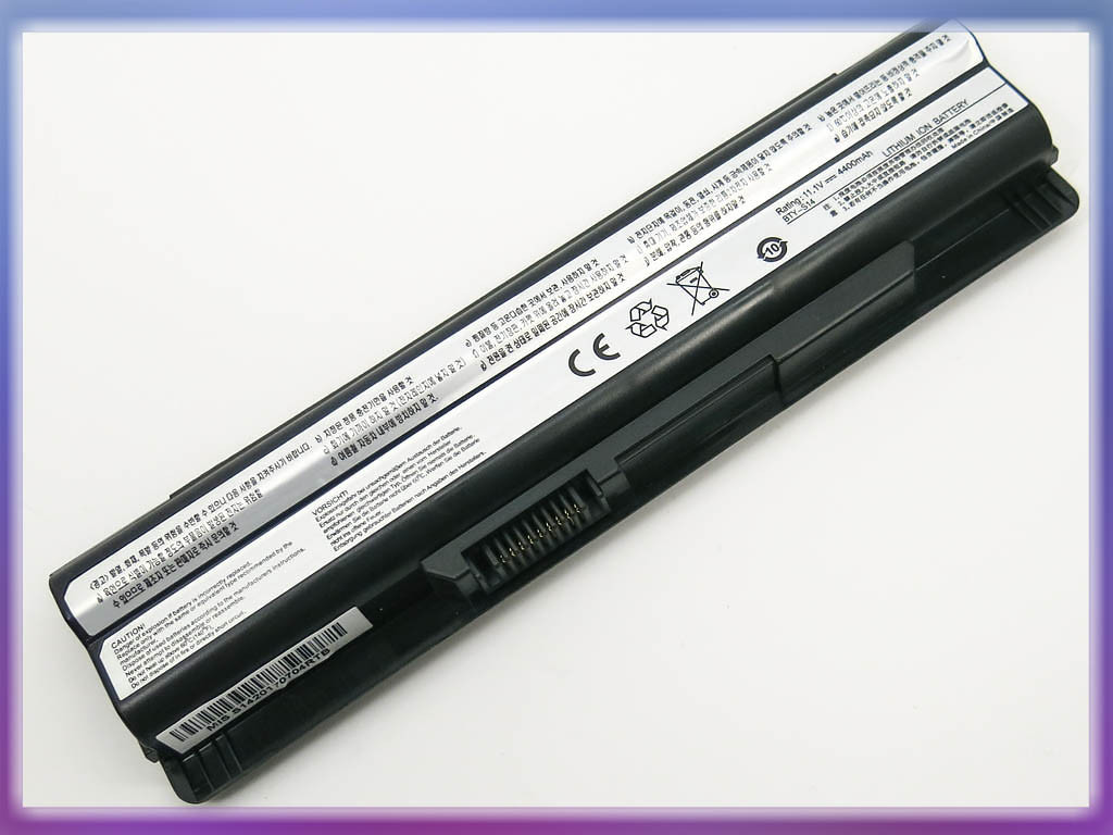 Аккумулятор MSI BTY-S14 FX400 (11.1V 4400mAh Black)
