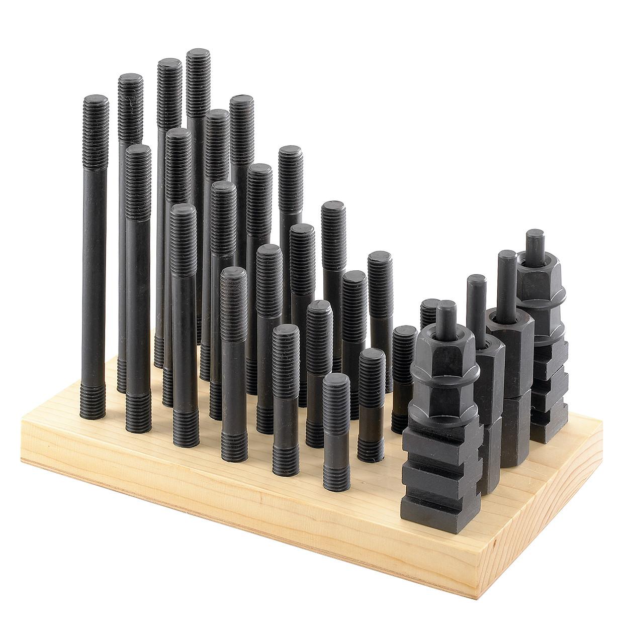 Шпильки і гайки з потрійним шліцом Асортимент 18 мм, М 16