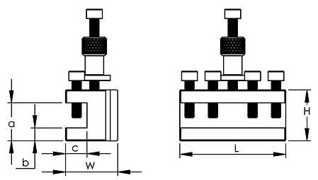 Сменный держатель с прямой вставкой для Gr. 20, фото 2