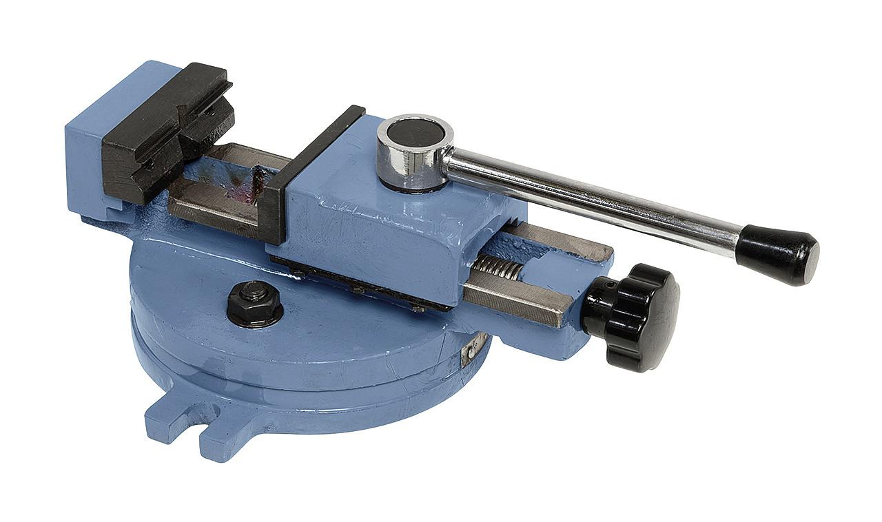 Быстрозажимные тиски станочные поворотные 55мм SP 55 Bernardo