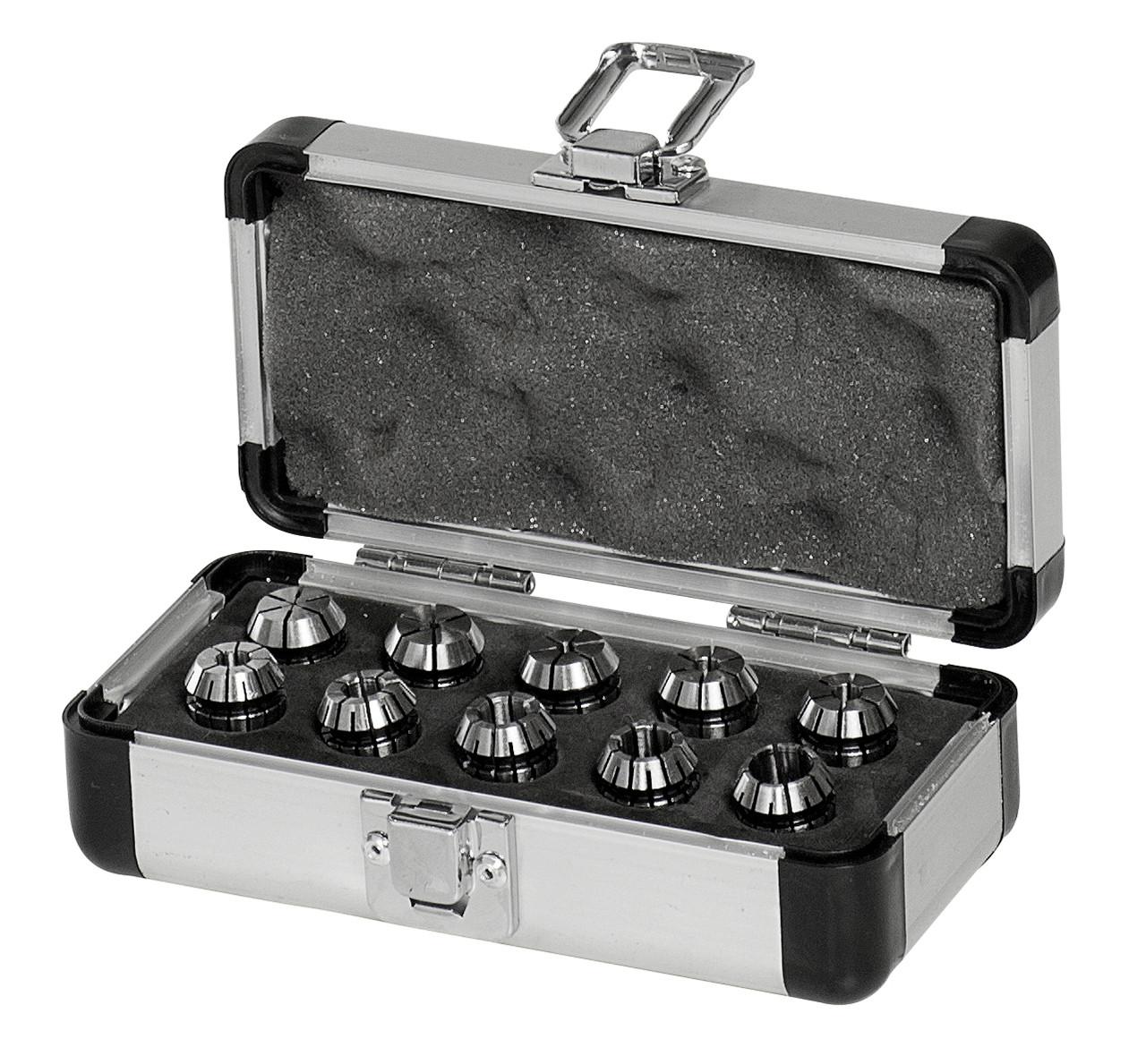 Комплект цанг ER 16, 0,5 - 10 мм, 10 шт.