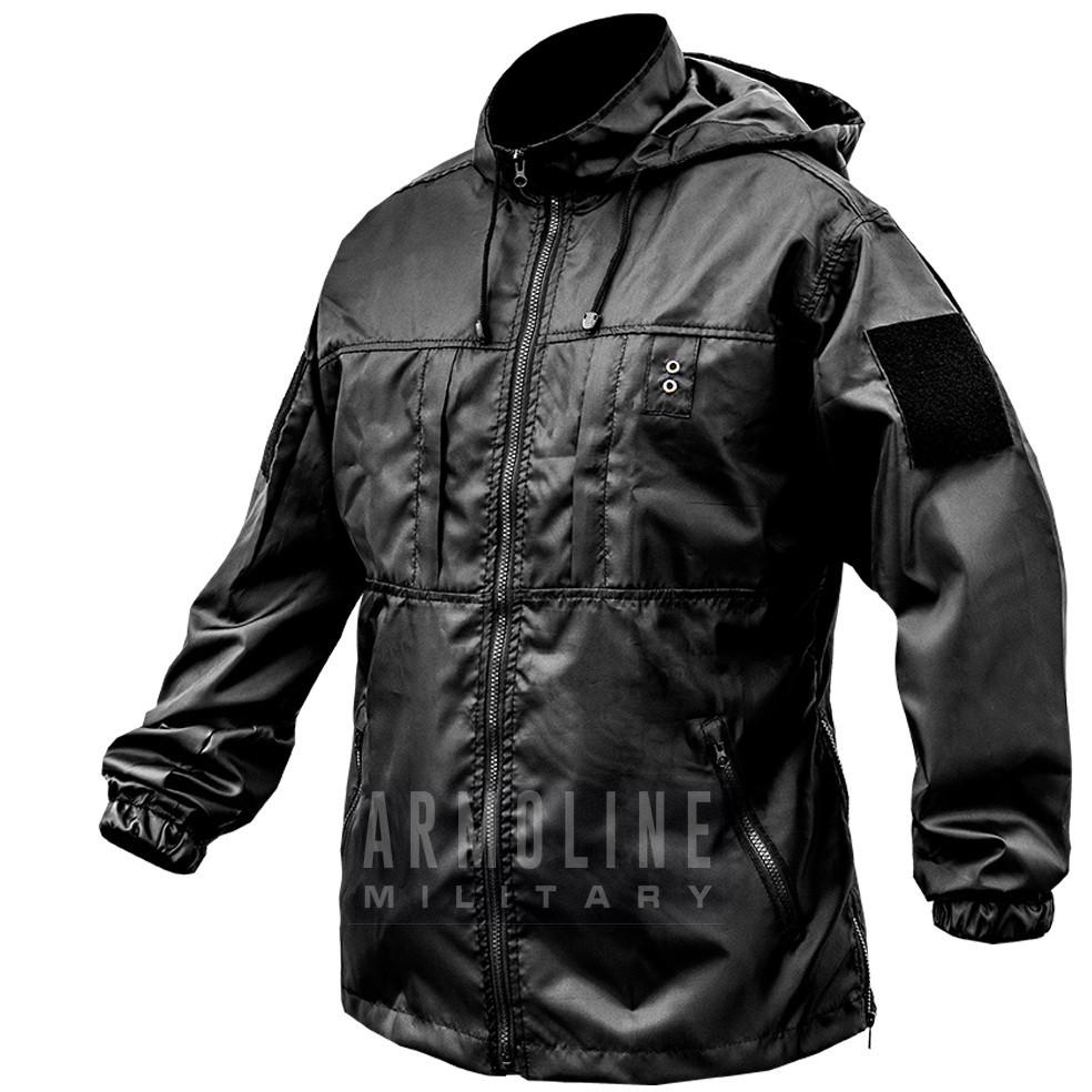 "Куртка - дождевик ""POLICE"" (ЧЁРНАЯ) Размеры S, M."