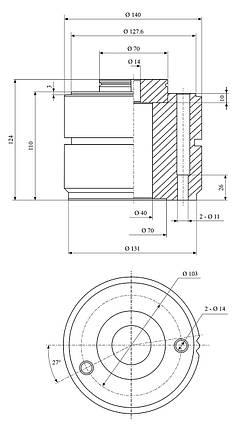 Сменный стальной держатель System Multifix размер D, фото 2