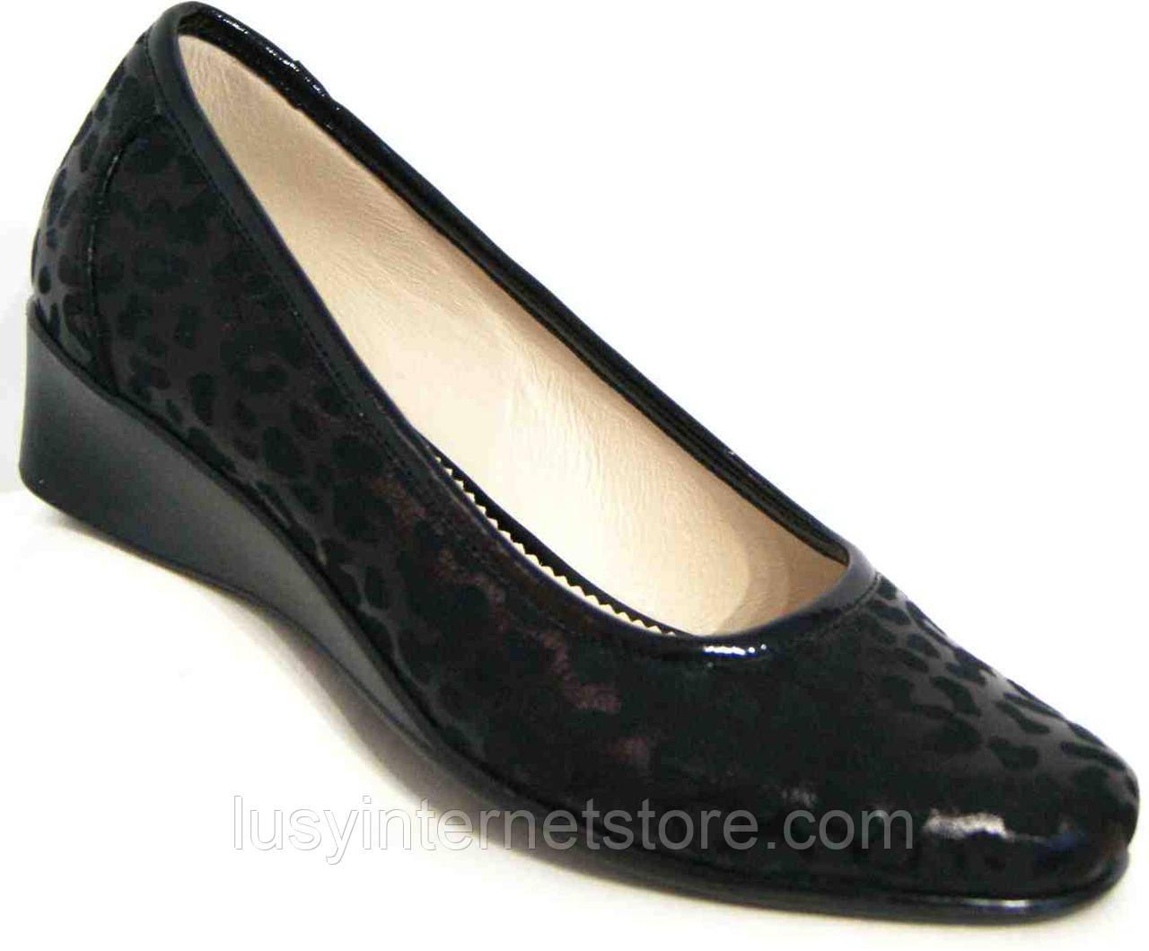 669f5774a Кожаные женские туфли большого размера от производителя модель МИ3203-2БМ -  Lusy в Харькове