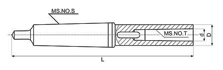 Удлинительная втулка MK 2/1, фото 2