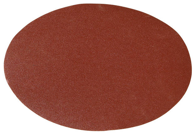 Шлифовальная подушка диам. 150 мм - K120, застежка-липучка, фото 2