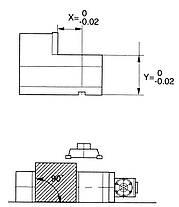 Прецизионные гидравлические тиски ЧПУ CHV 130 V Bernardo, фото 3