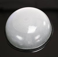 Герметичный светильник ЖКХ  Е27 190х80мм, черный круг
