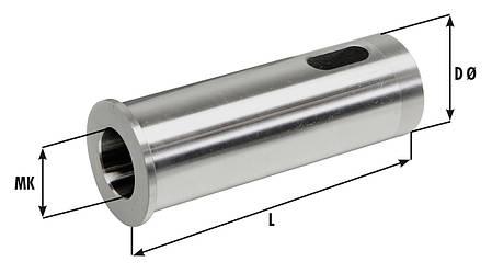 MK втулка диам. 40 x 140 мм для размера B - MK 4, фото 2