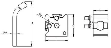 Сменный стальной держатель модели Bernardo Gr. 30, фото 2