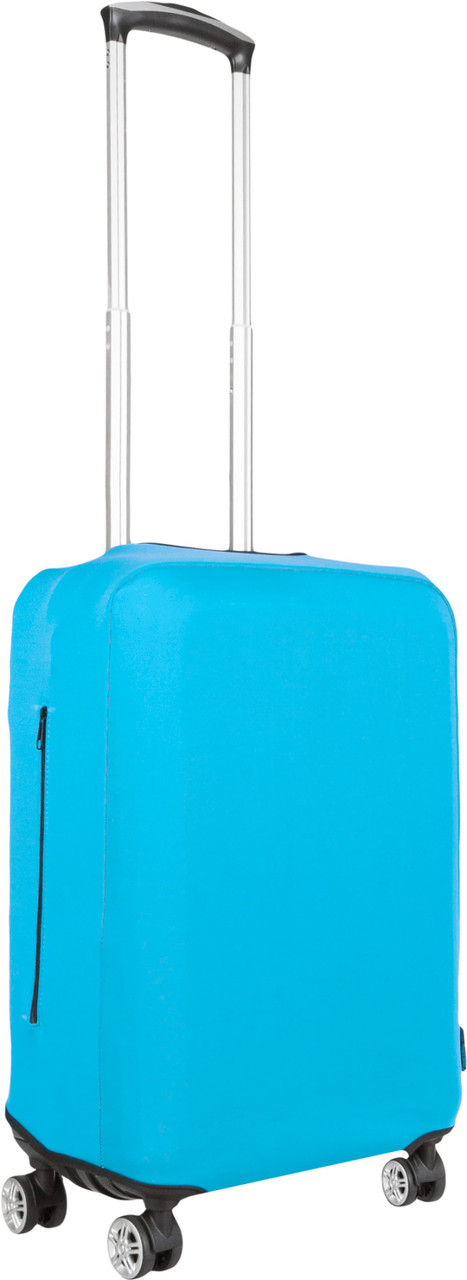 Чехол для чемодана Coverbag из дайвинга S (бирюза)