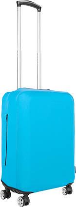Чехол для чемодана Coverbag из дайвинга S (бирюза), фото 2