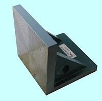 Плита поверочная чугунная угловая 200х200, класс точности 1